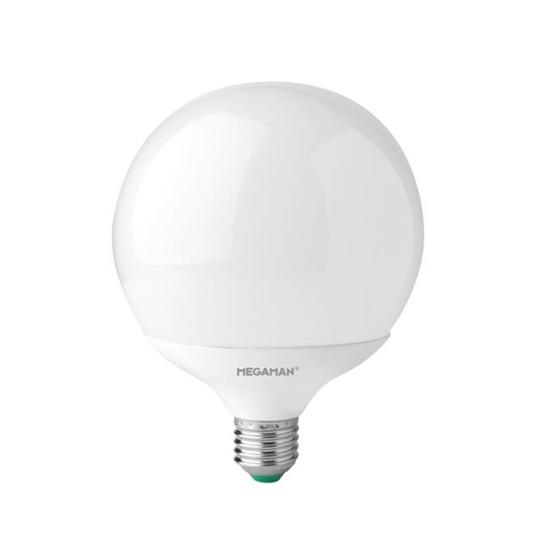Megaman 14w 4000k Non Dimmable E27 Opal Led Globe Lamp At - Led Globe E27