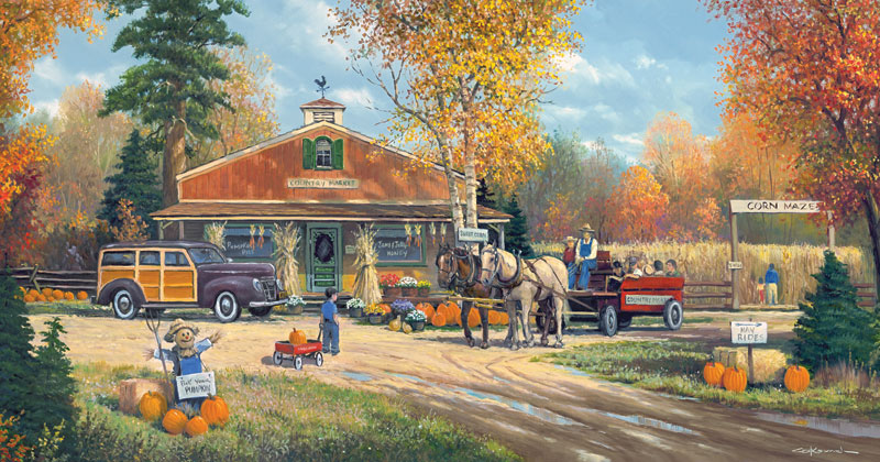 Fall Mountain Scenery Wallpaper Autumn Tradition Jigsaw Puzzle Puzzlewarehouse Com