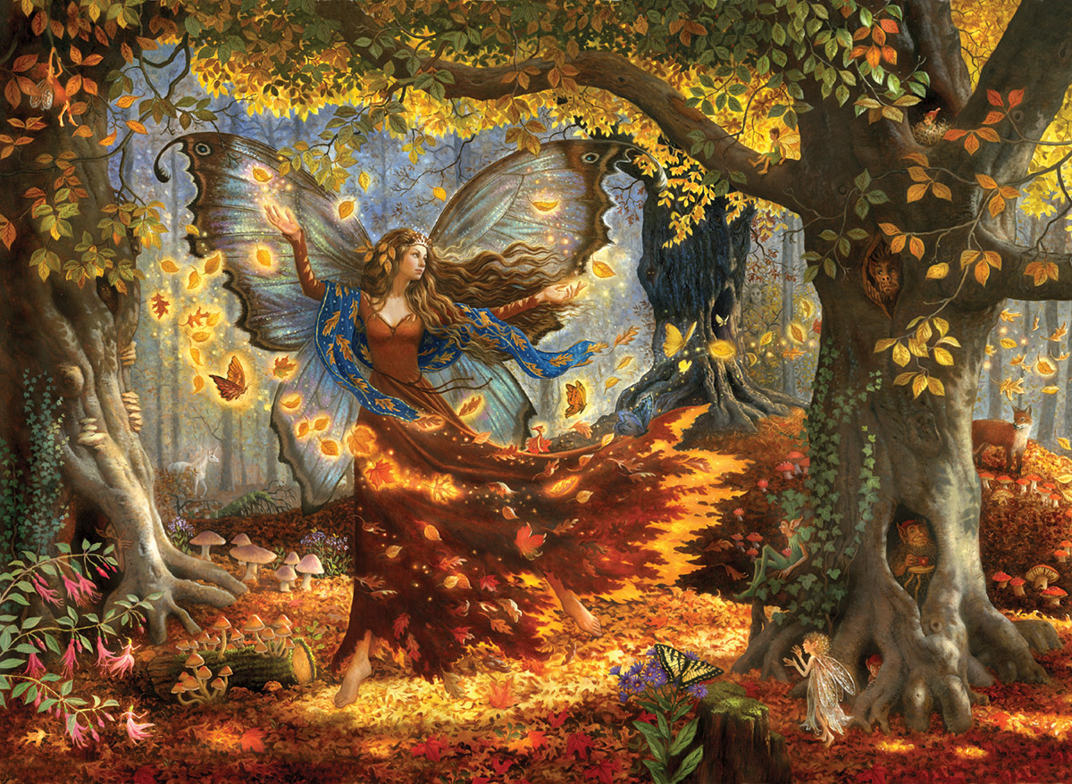 Large Fairies Woodland Fairy Jigsaw Puzzle Puzzlewarehouse