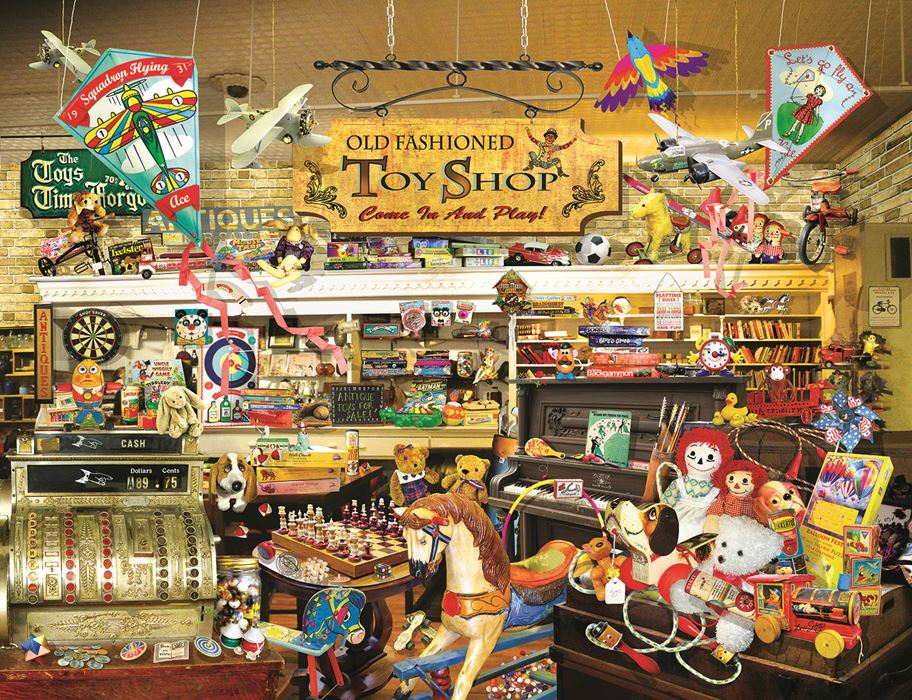 An Old Fashioned Toy Shop Jigsaw Puzzle Puzzlewarehousecom