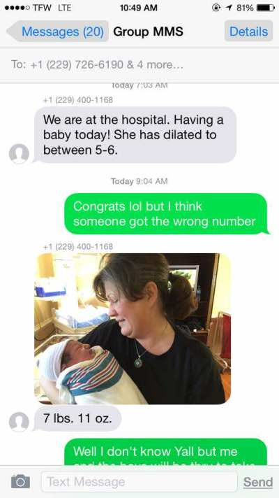 2 Dudes Get a Wrong # Text Announcing Baby's Birth—What They Did Next Just Made Internet History!!