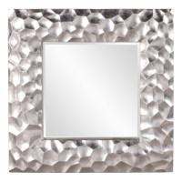 Marley Silver Leaf Square Mirror UVHE25092