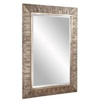 Elrond Silver Leaf Rectangular Mirror UVHE37152