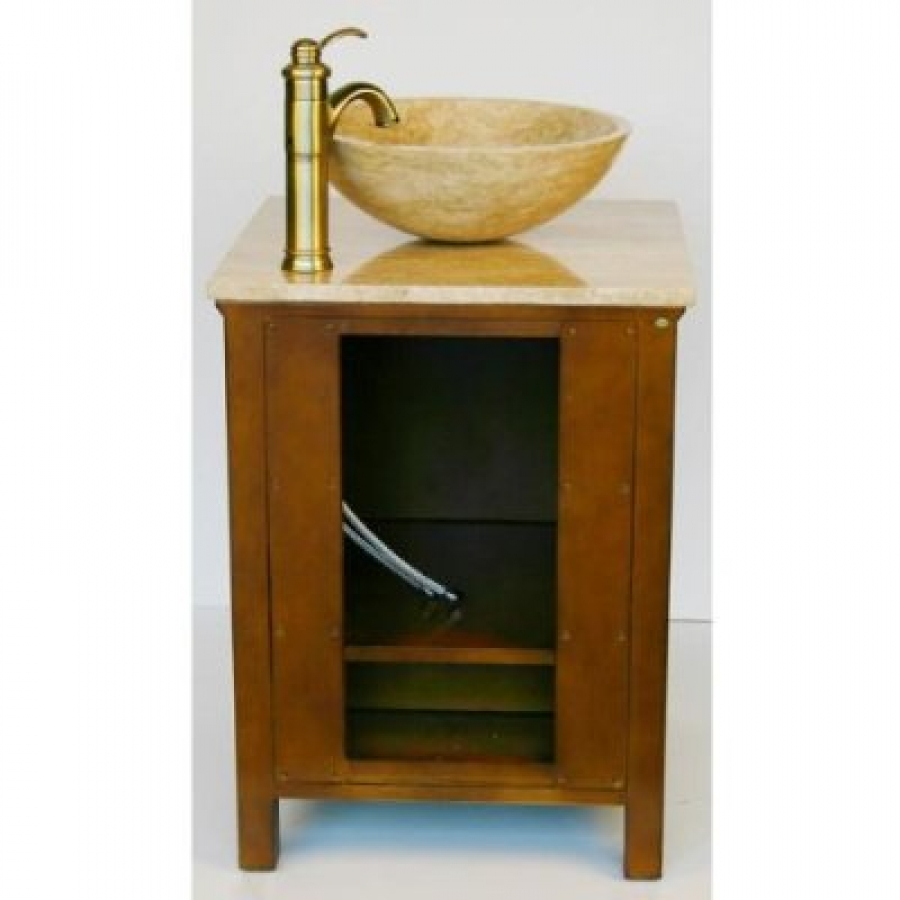 Small Bathroom Vanity With Sink 22 Inch Small Travertine Vessel Sink Bathroom Vanity