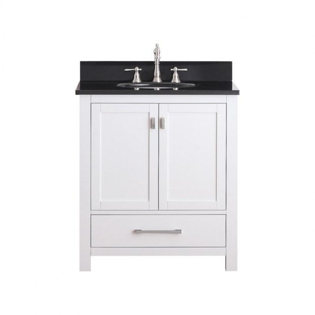 single sink bathroom vanity 30 inch