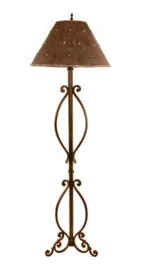 Portuguesa Wrought Iron Floor Lamp UVSLPORTR