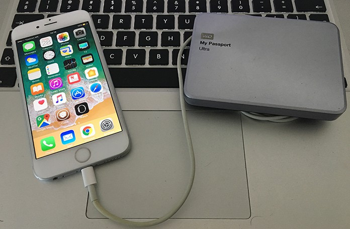 How to Backup iPhone to External Hard Drive on Mac