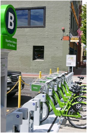 Salt Lake City GREENbike Squatters Station