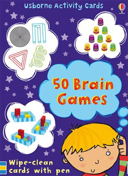 Brains Games 50 Brain Games At Usborne Children S Books