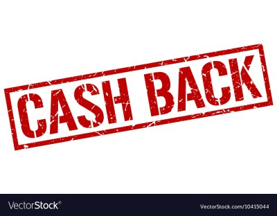 Cash back stamp vector by Aquir - Image #10415044 ...