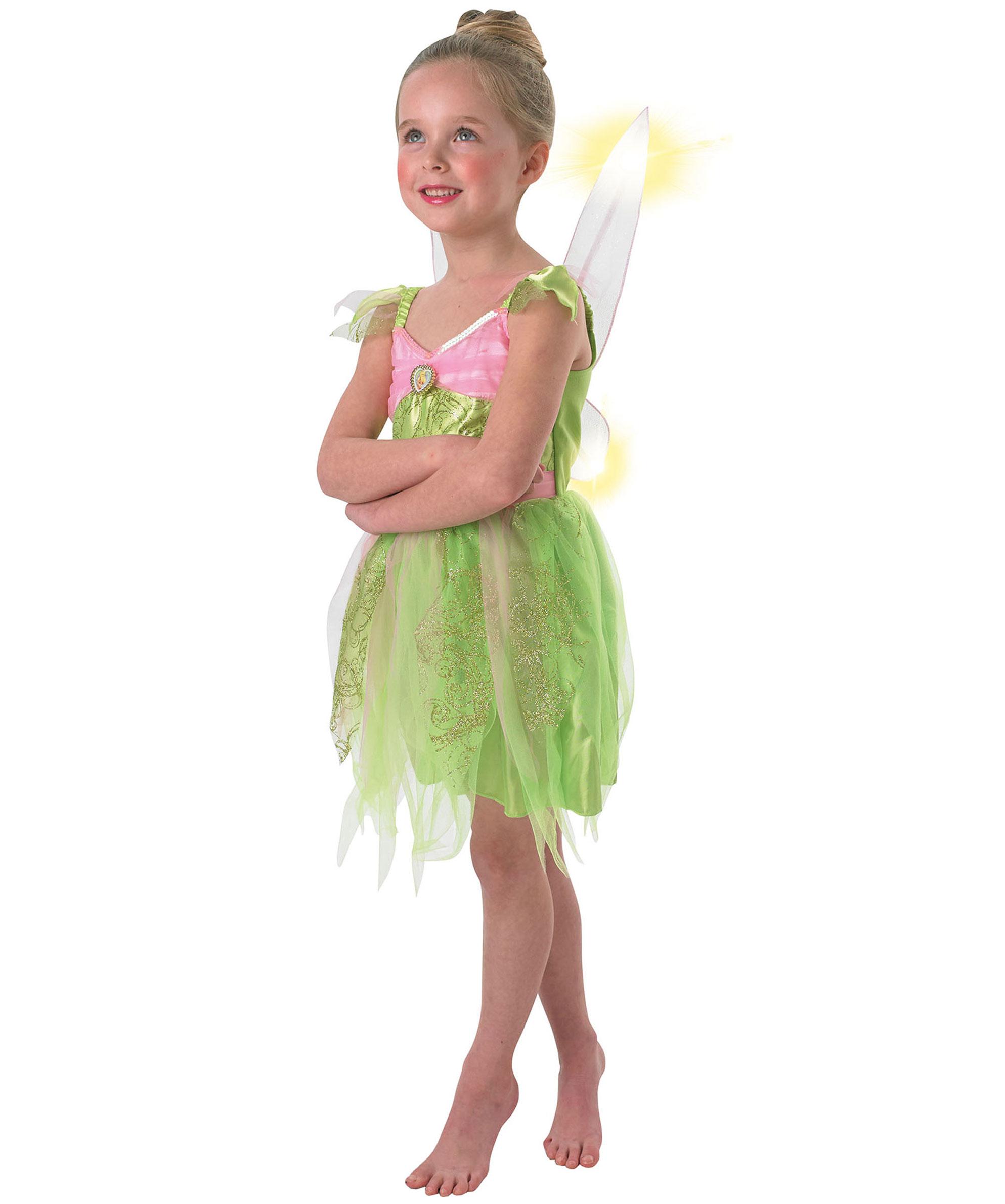 tinkerbell kostum fur madchen kinderkostume bei vegaoo