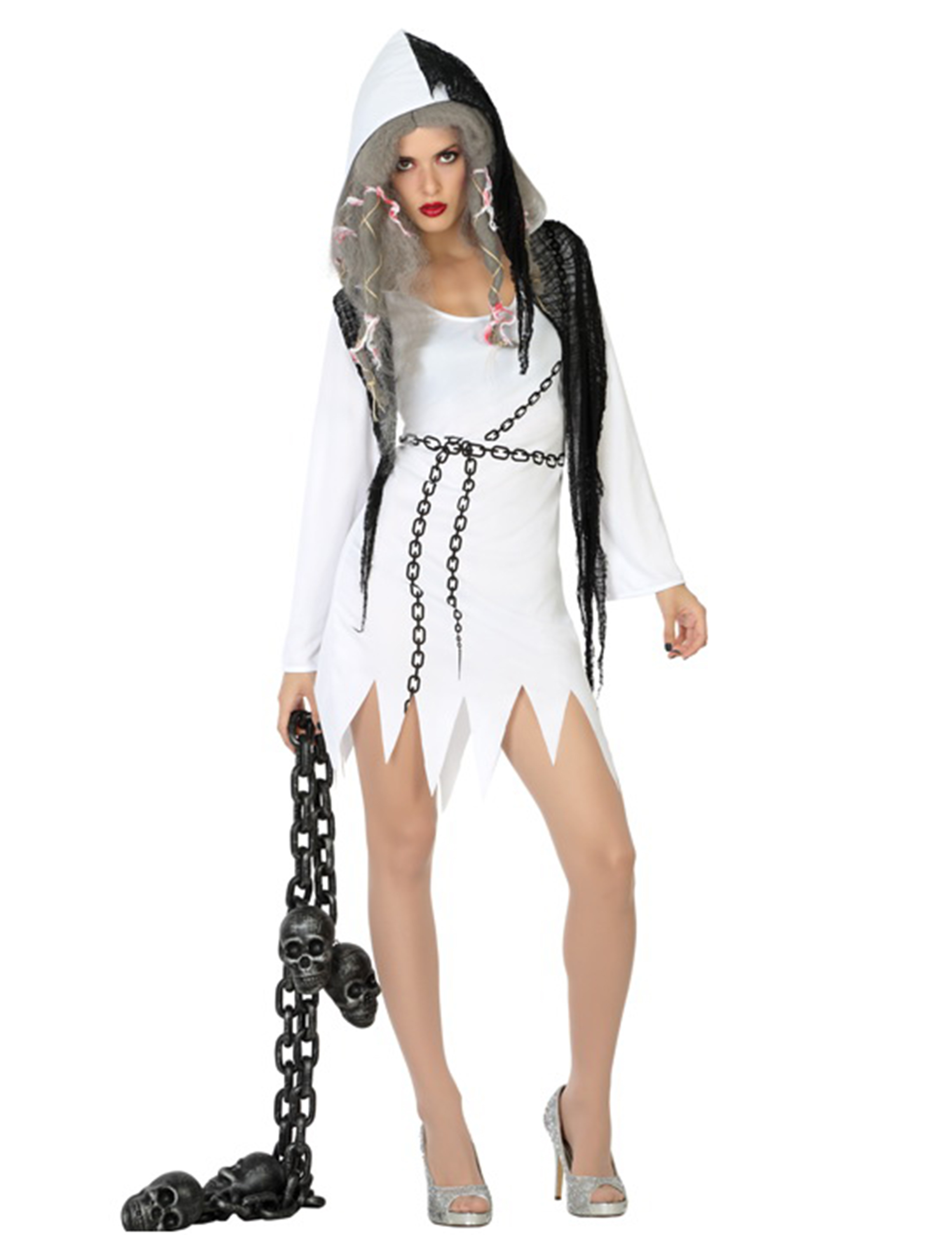 Halloween Gespenster Servietten Sexy Gespenster Kostüm Für Damen Halloween
