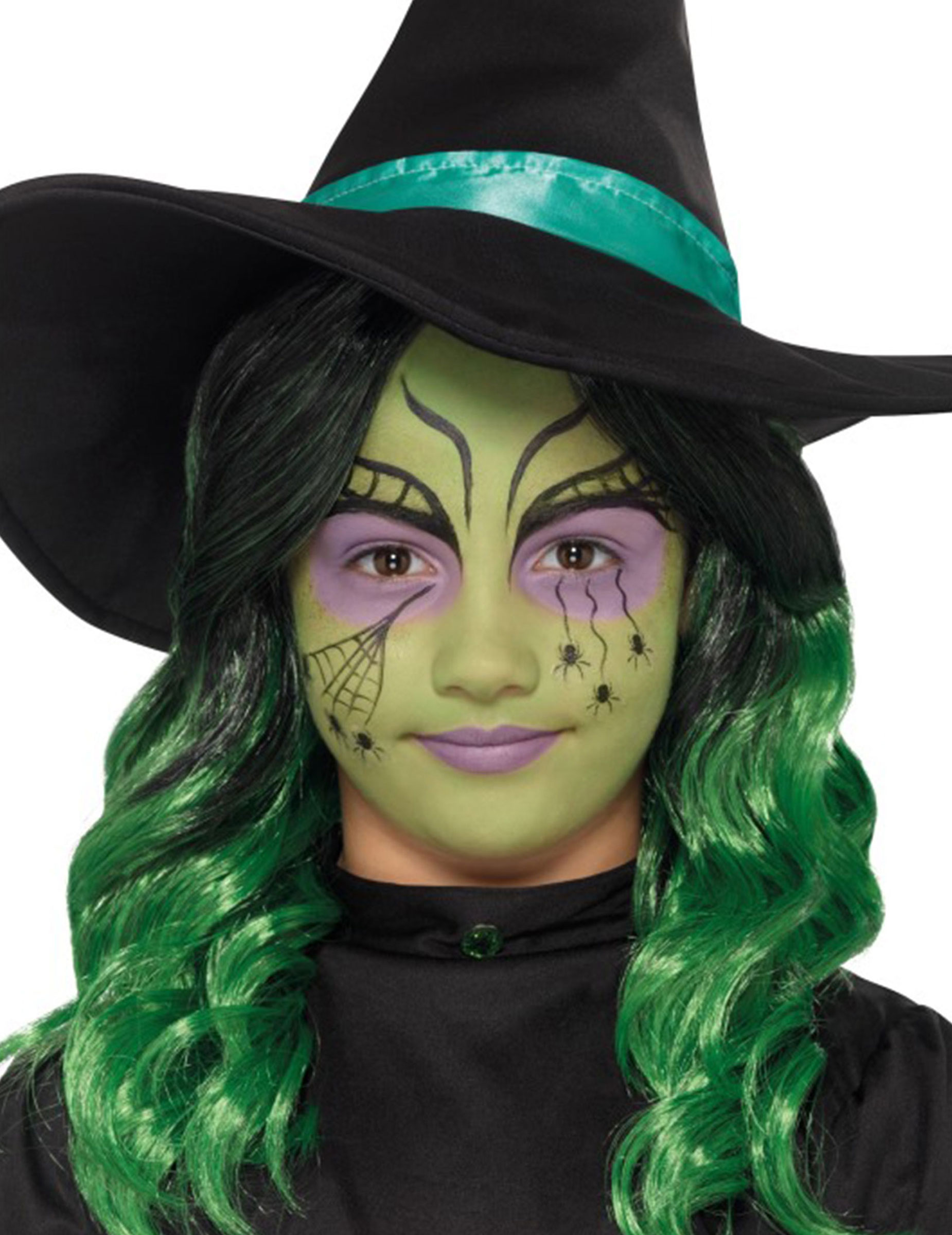Schminken Kinder Halloween Hexen Schminkset Für Kinder Halloween Make Up Bunt