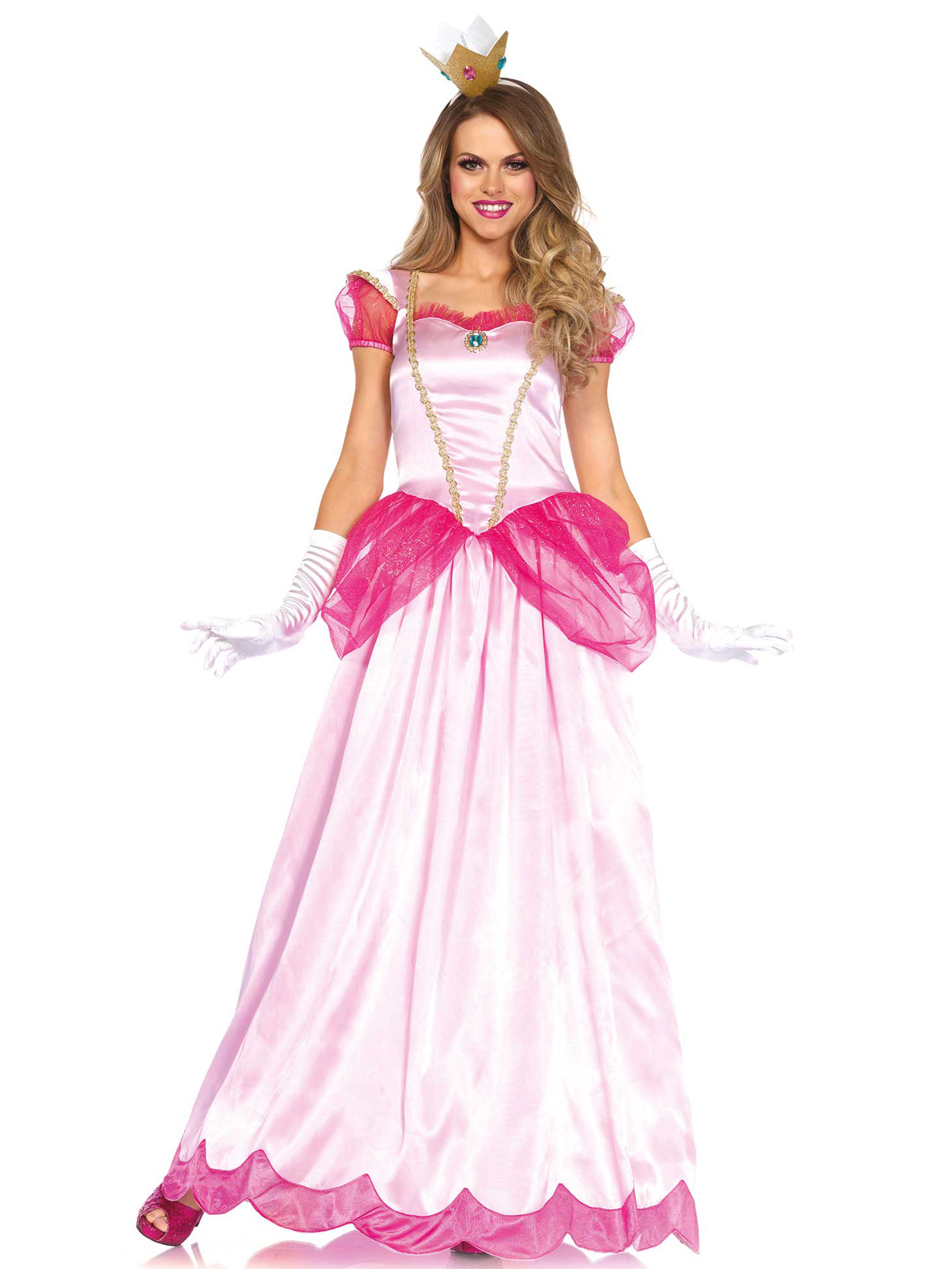 Barbie Kostüm Damen Costume Principessa Rosa Per Adulto: Costumi Adulti,e