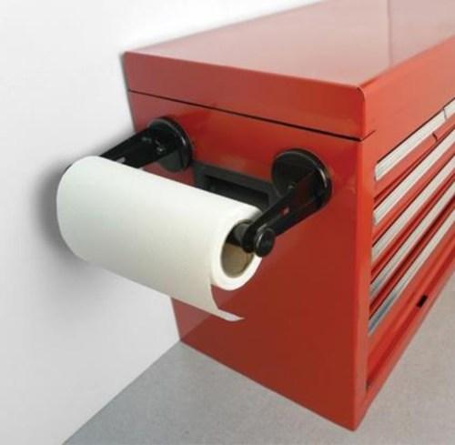 Medium Of Magnetic Paper Towel Holder