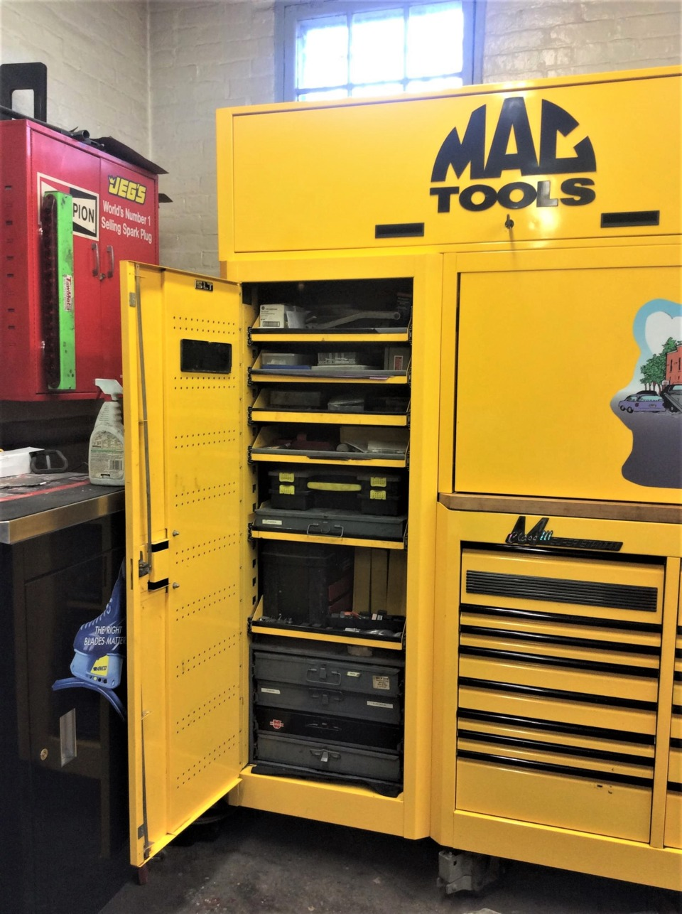 Shop Tool Boxes Big Time Boxes Joseph Spiak Mac Tools