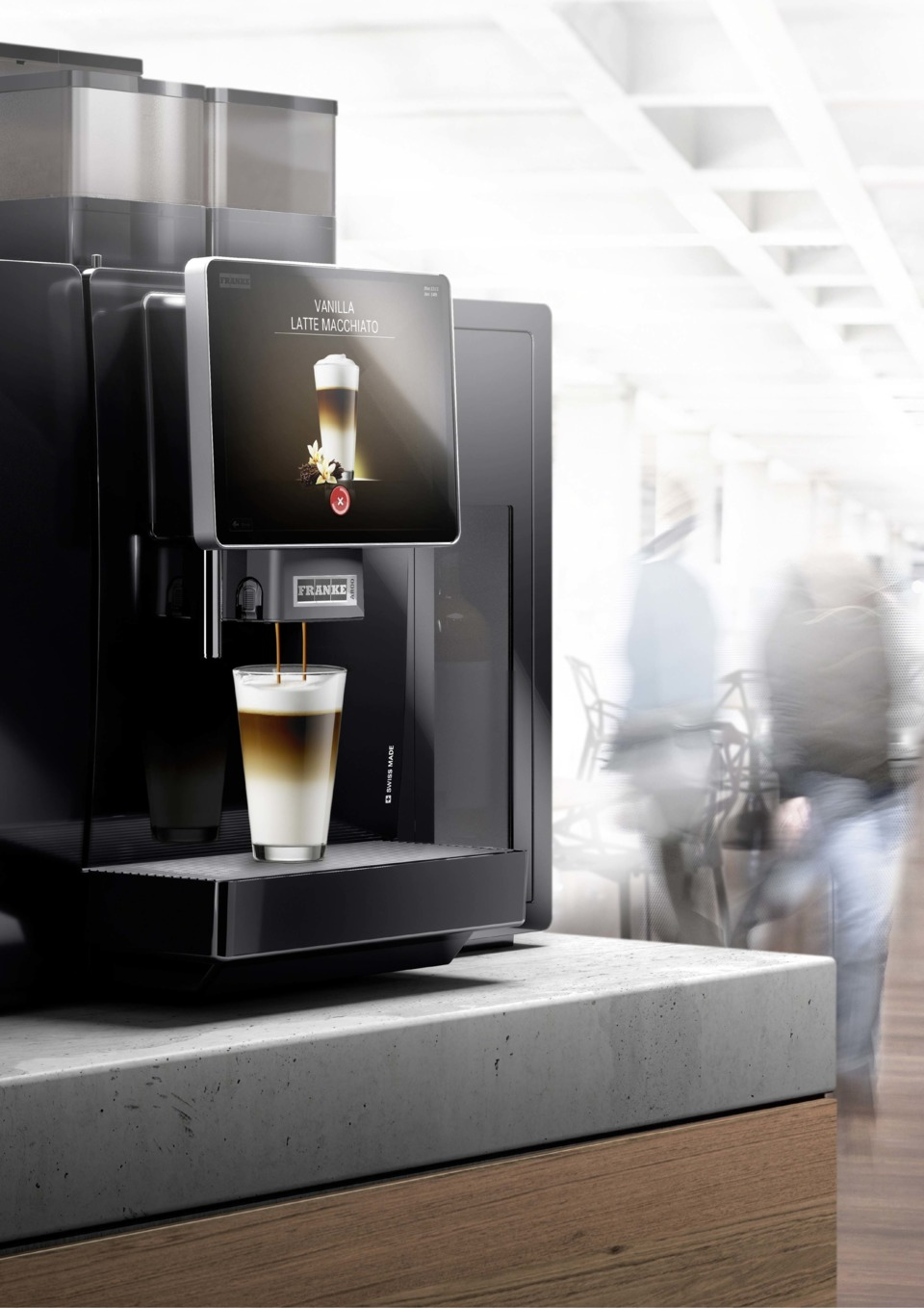 Franke Coffee Systems Franke Coffee Systems Launches The A800 High Volume Single Cup