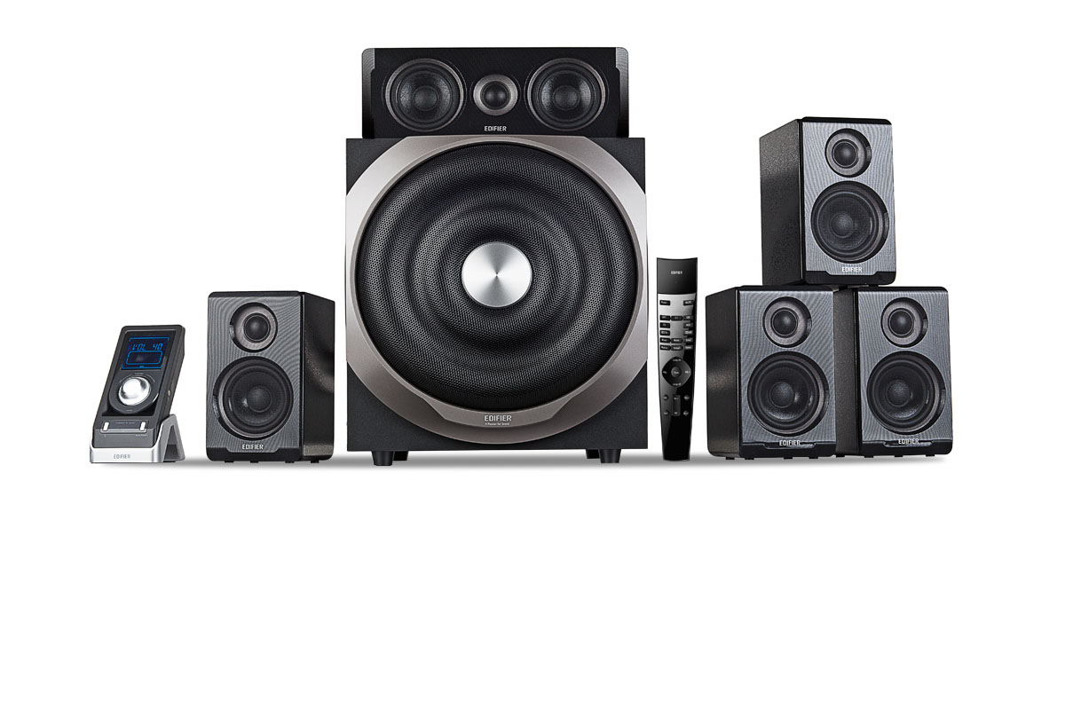 Dolby Surround Wireless 5.1 Surround Sound Speakers S760d - Edifier International