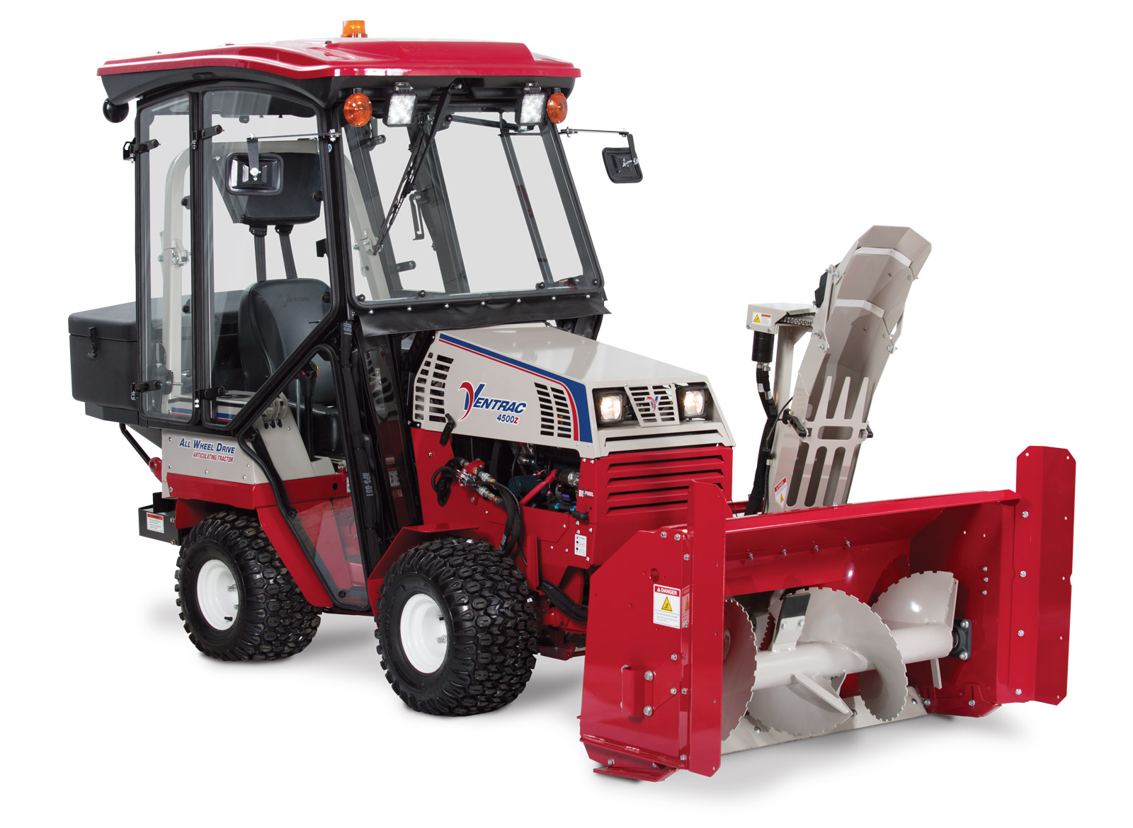 Used Snow Blowers Ventrac Kx523 Snow Blower