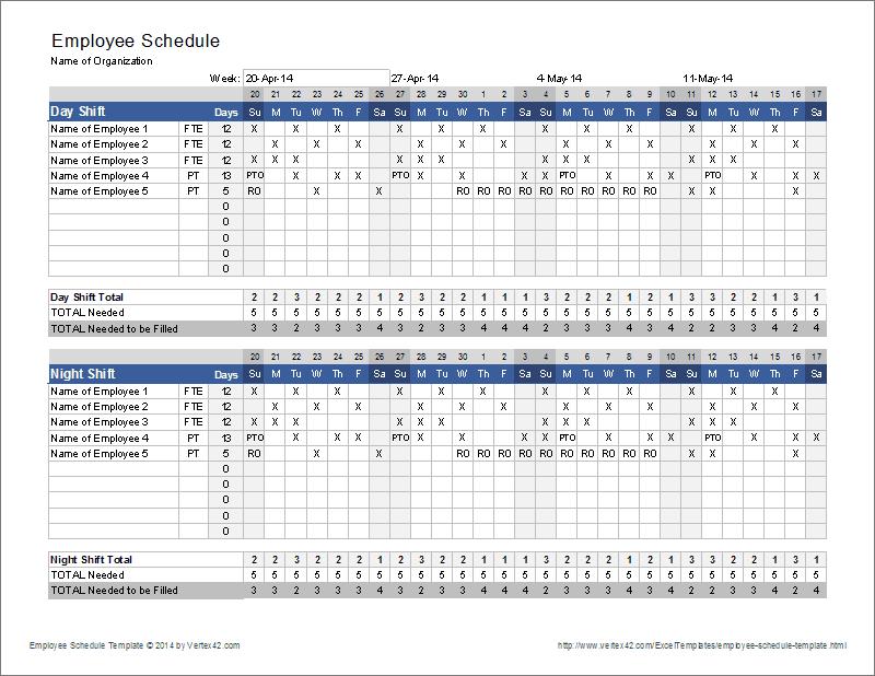 10 hour shift schedule calculator