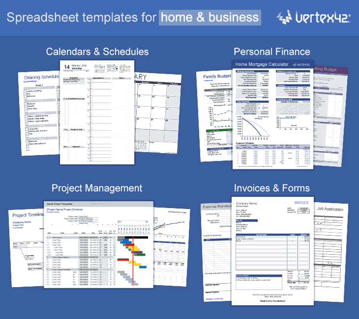 Free Excel Templates and Spreadsheets