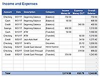 Free Excel Checkbook Register - Printable