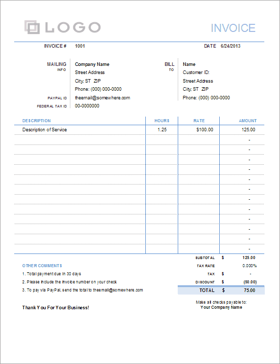 Simple Invoice Delete Invoice | Resume Examples And Writing Tips