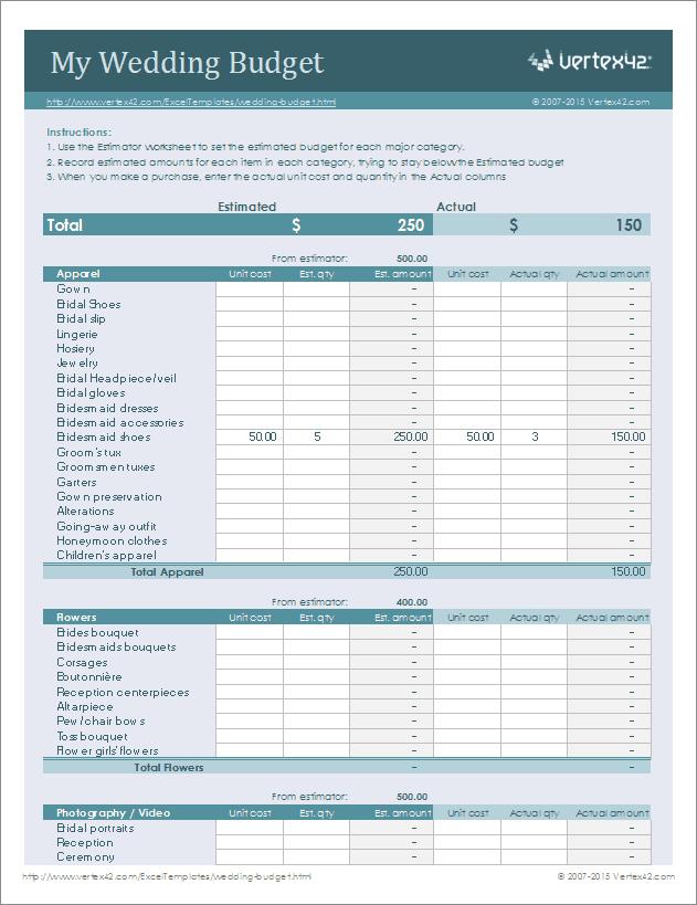 google sheets templates budget