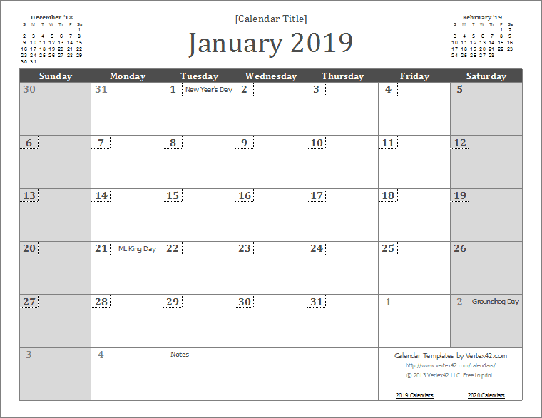 Free Online Calendar 2013 Malaysia Free Printable Sweet New Year Calendar 2014 >> Eat Drink Chic 2019 Calendar Templates And Images
