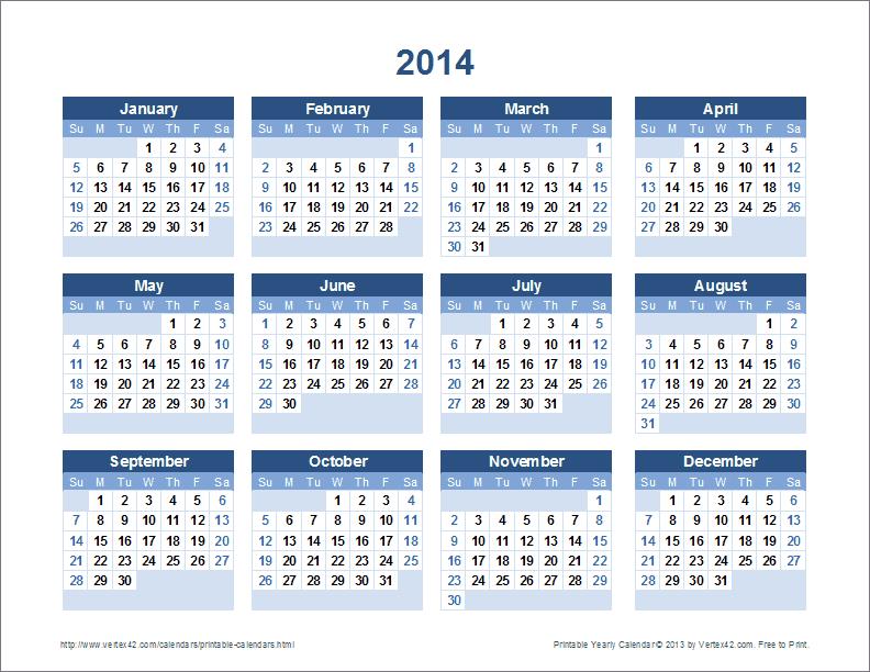 Yearly Calendar Canada 2014 February 2014 Calendar Printable Monthly Calendar Of Free Printable Calendar Printable Monthly Calendars