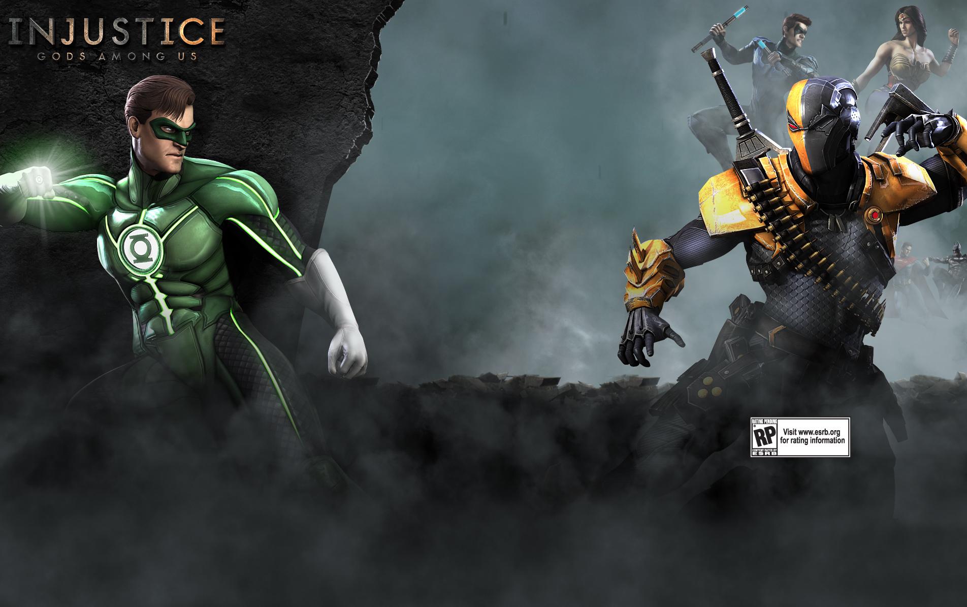 Green Arrow Wallpaper Hd Injustice Gods Among Us Deathstroke Artwork