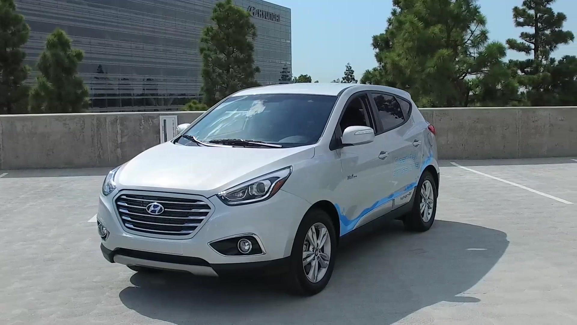 Cuv Car Hyundai S All New 2018 Hydrogen Powered Cuv Comes Into Focus