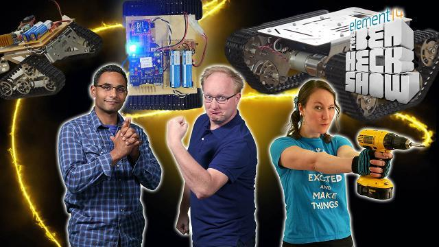 The Ben Heck Show - Episode 248 - Ben Heck's Hackbot Wars Part 1: Assembly