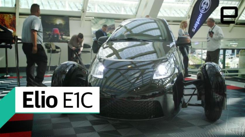 Elio E1C: First Look