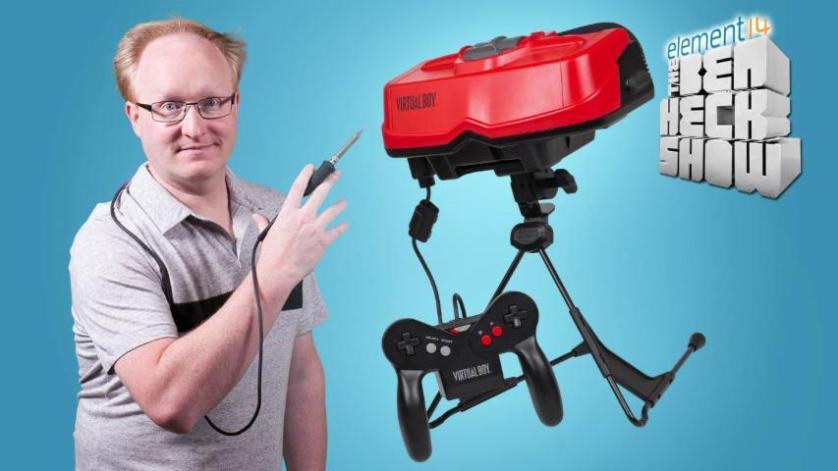 The Ben Heck Show - Episode 264 - Ben Heck's Virtual Boy Part 1: Teardown
