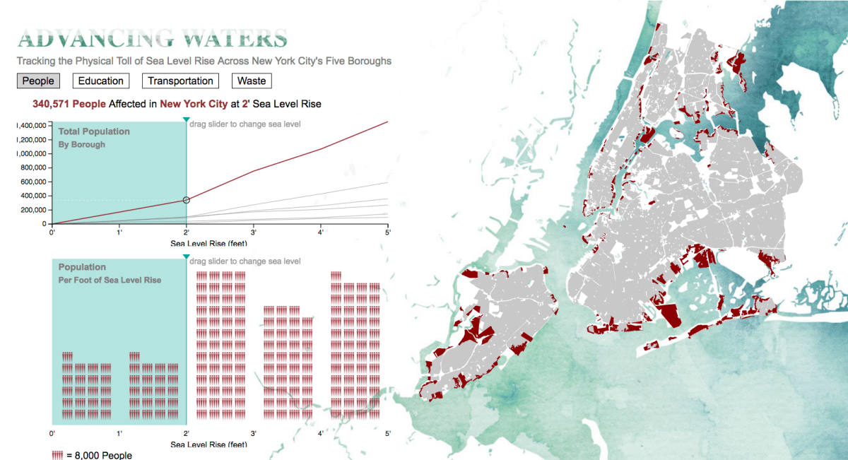 interactive map of new york