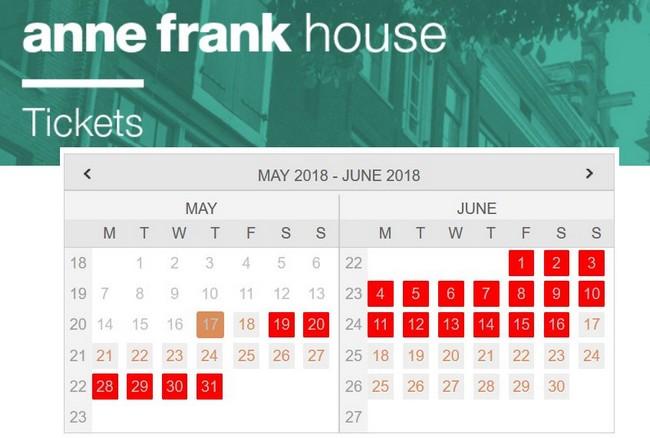 Ticket coupe file Maison de Anne Frank - Lire Un Plan De Maison