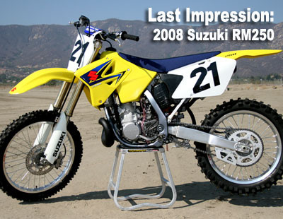2008 Rm 250 Review Wiring Schematic Diagram