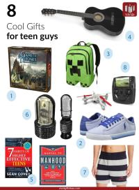 8 Cool Gifts for Teenage Guys - Vivid's Gift Ideas