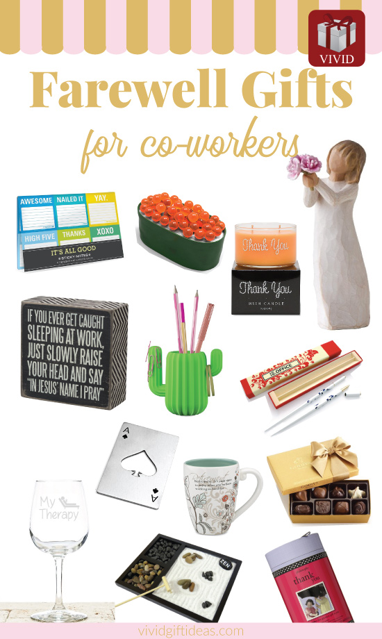Top 18 Farewell Gift Ideas for Coworkers 2018 - Vivid\u0027s Gift Ideas