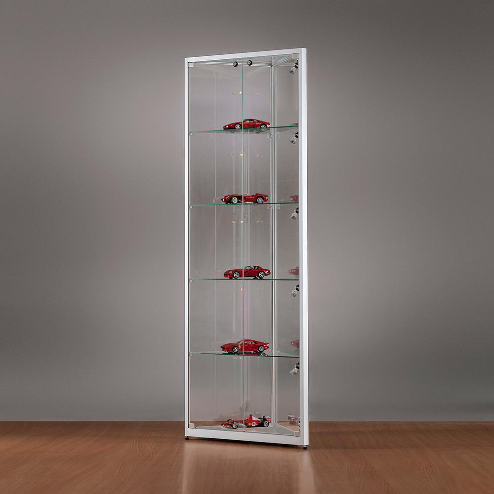 Eckvitrine Glas Glass Corner Showcase