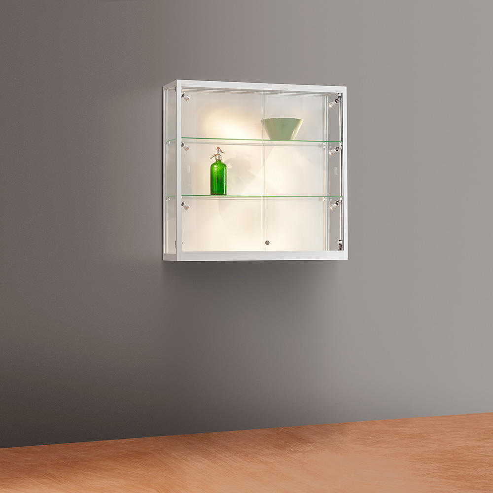 Wandvitrine Glas Wall Mounted Showcase
