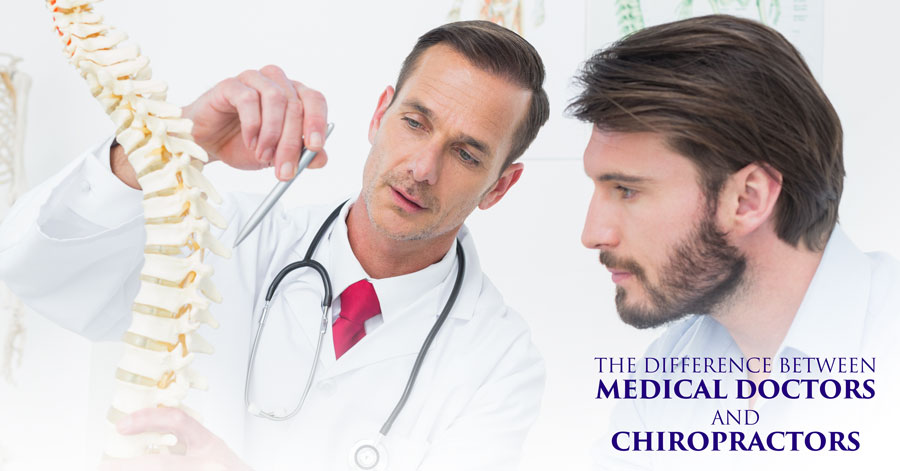 The Difference between Medical Doctors and Chiropractors Auburn