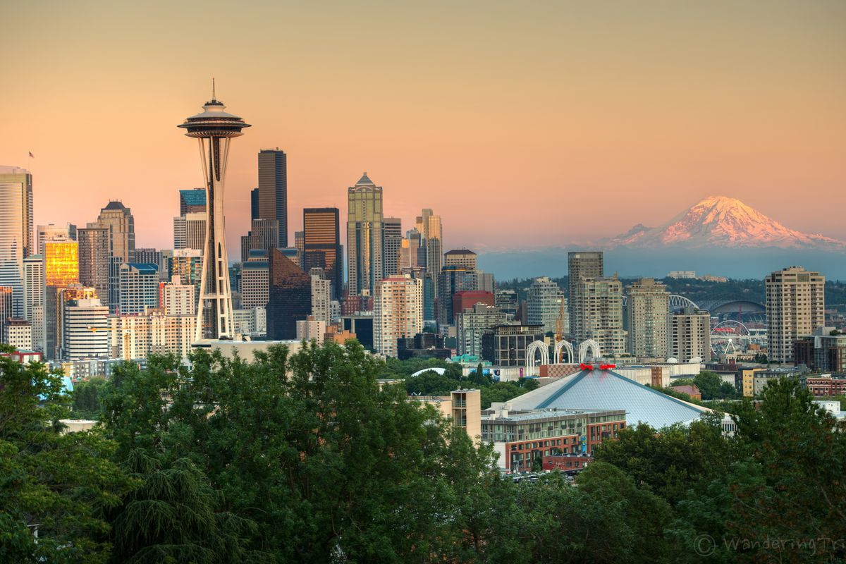 Seattle Washington In Fall City Night Wallpaper Grey S Anatomy Season 14 Brings The Cast To The Real