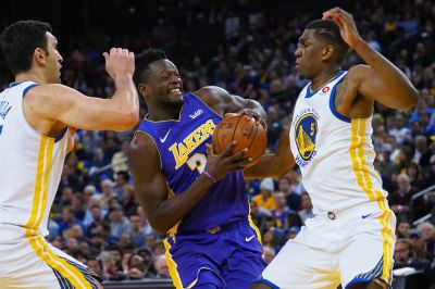 Lakers vs. Warriors Final Score: Hobbled Lakers lose to Warriors 117-106 - Silver Screen and Roll