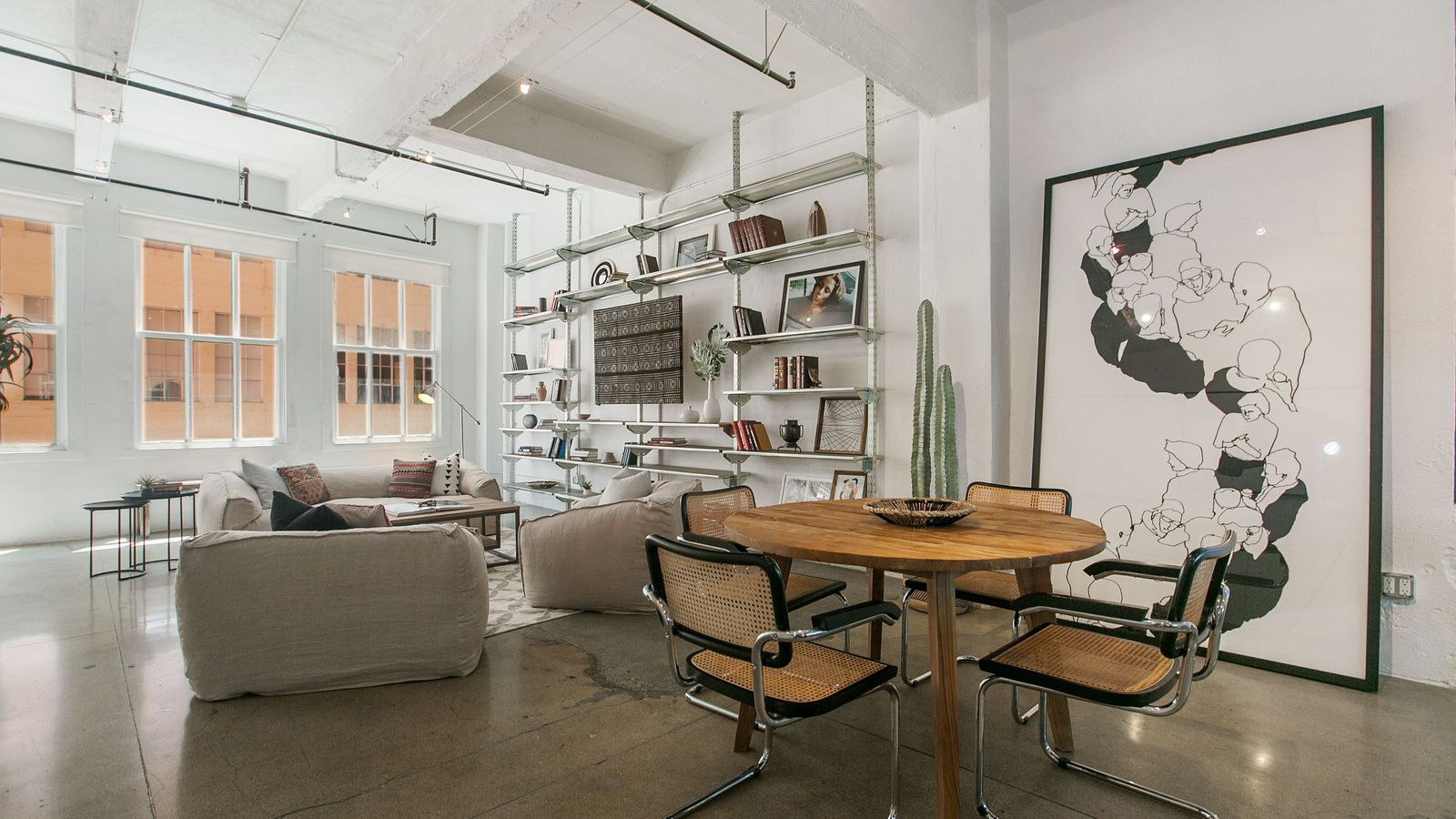Used Kitchen Cabinets York Region Bright Fashion District Loft Asks 500k Curbed La