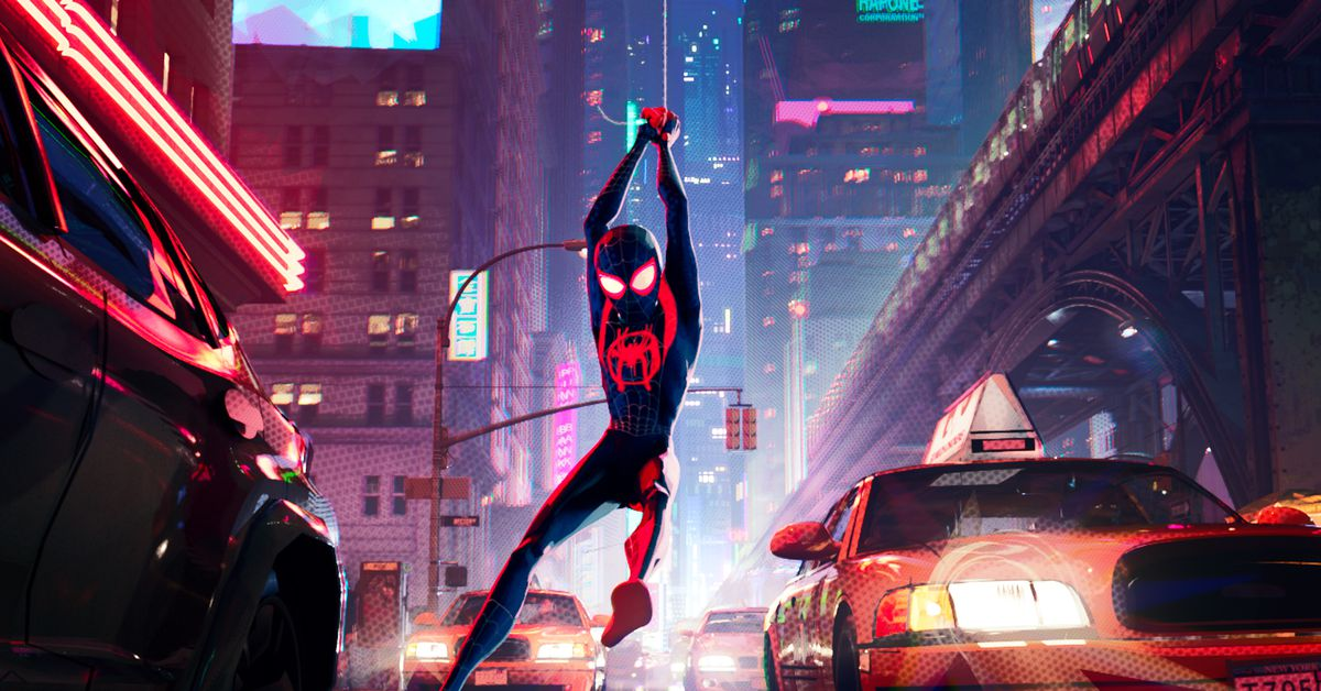 Animated Clock Wallpaper For Samsung Mobile Spider Man Into The Spider Verse Is Dazzling Hilarious