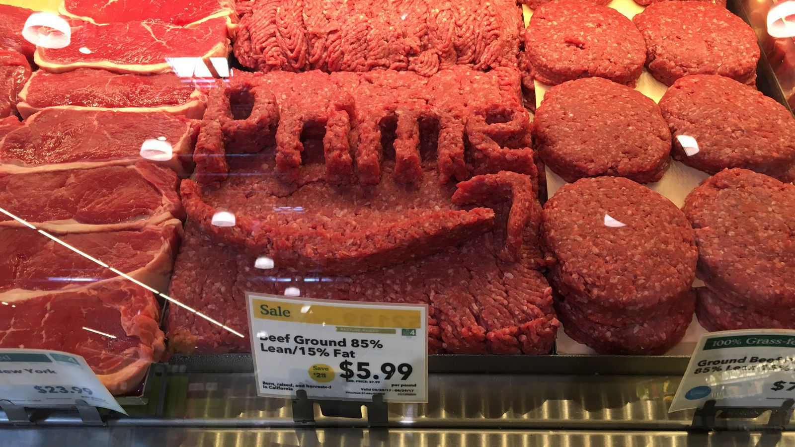 Whole Cow Meat Whole Foods Staff Designed Those Meat Logos On Their Own