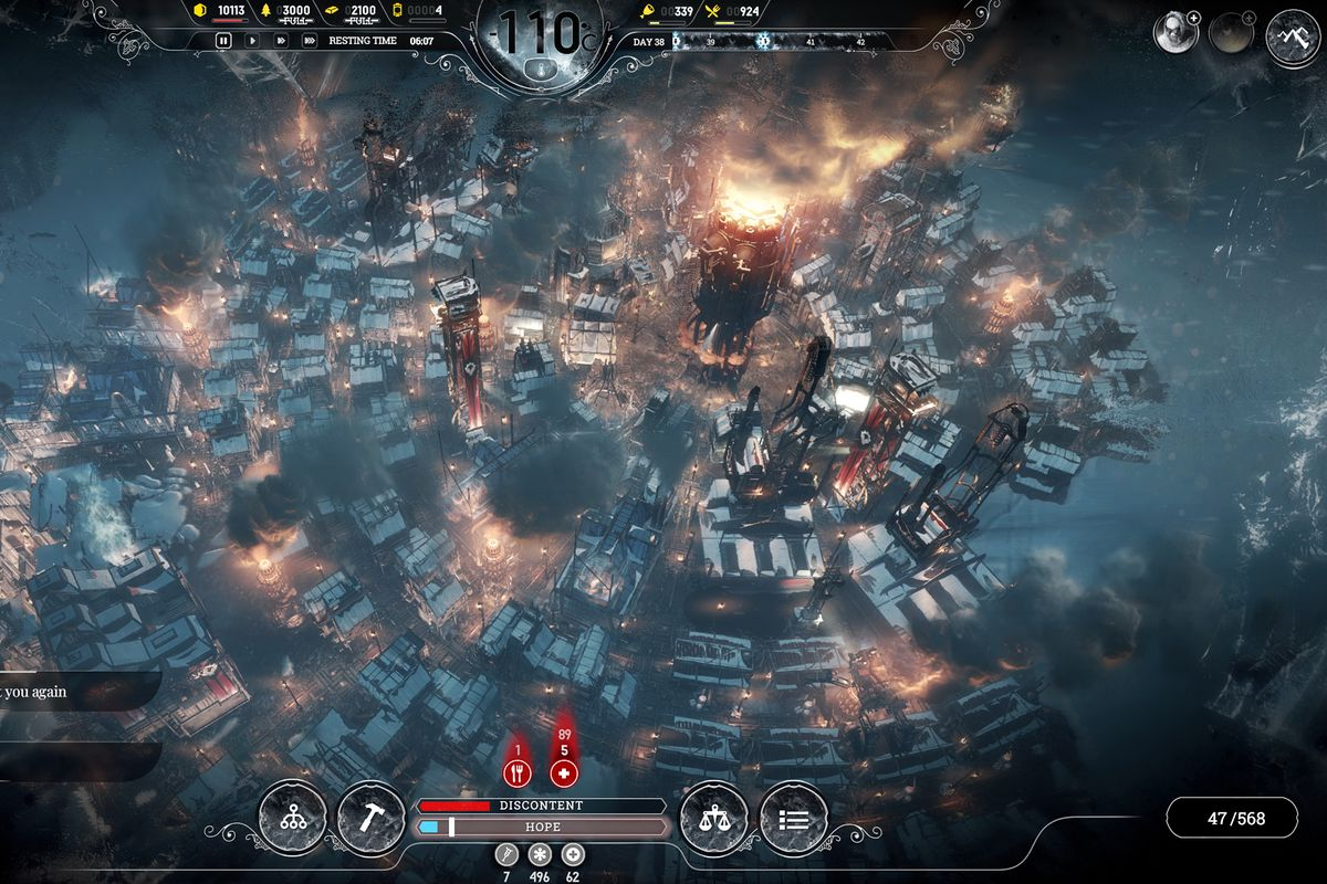 Fall Weather Wallpaper Frostpunk Is A Game About Suffering On An Industrial Scale