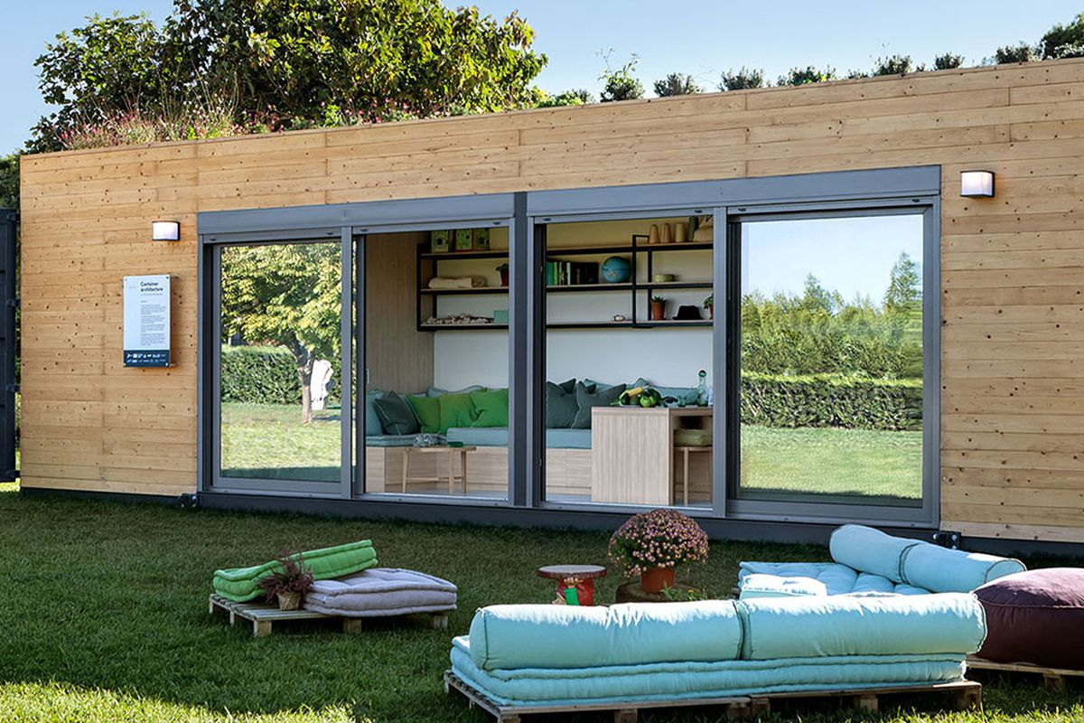Container Haus Containex Shipping Container Home From Cocoon Modules Is Also Energy